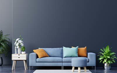 Verano azul. Soñarás con tener todos tus muebles en este color.